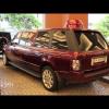 Range Rover превратился в лимузин со странным горбом на крыше