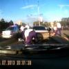 Российские полицейские задержали пьяного водителя
