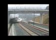 Запись срыва поезда в Испании