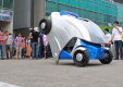 Корейский электромобиль может складываться