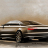Компания Audi опубликовала первые фотографии рестайлингового A8