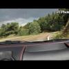 Быстрая изда на Ferrari F430 в горных дорогах Мексики
