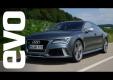 EVO хвалит двигатель Audi RS7, но не могут назвать это автомобиль для водителя