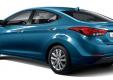 Hyundai Elantra 2014 года показан в Корее