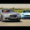 MT обнаруживает Aston Martin Vanquish и Bentley Continental GT Speed очень разными зверьми