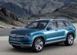Семиместный кроссовер Volkswagen CrossBlue получит серийную версию