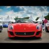 Гонка Ferrari 599 против BMW X6M и Nissan Juke R