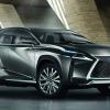 Дизайнеры Lexus придали кроссоверу сходство с роботом-оригами