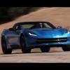 На новом Corvette Stingray любо-дорого сжигать шины