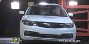 Qoros 3 первый Китайский седан, который получил 5 звезд в EuroNCAP