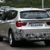 Шпионские фото: BMW X3 2015 претерпел легкие косметические изменения
