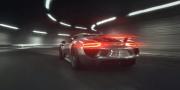 Новое промо видео гибридного Porsche 918 Spyder