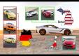 Новый Corvette Stingray против конкурентов на треке