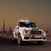 На службу полиции Дубая поступил Brabus B63S-700 Widestar