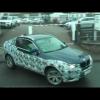 Новый BMW X4 в движении