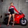 Магазин Ducati размывает границы и меняет фотомоделей-женщин на мужчин