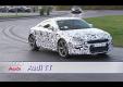 Шпионы: Новый Audi TT 2015 Mk3 снят на круге