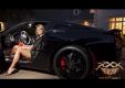 Сексуальная девушка за рулем 2014 Corvette Stingray