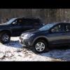 Видео тест драйв Toyota RAV4 в программе Москва рулит