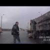 Водитель Камаза пьян в стельку