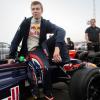 Даниил Квят впервые участвовал в гоночном заезде «Формулы-1»