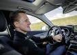 Михаэль Шумахер проверяет новую систему безопасности Mercedes C-Class 2015