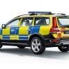 Обновленный Volvo XC70 D5 AWD 2014 поступил на службу шведской полиции