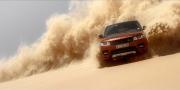 Range Rover Sport Blast через крупнейшие песчаные барьеры пустыни