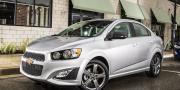 Фото Chevrolet Sonic RS Sedan 2014