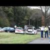 Голландские полицейские на VW Touran MPV преследуют лихача