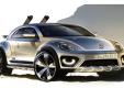Volkswagen представит новый концепт Beetle Dune на Детройтском автошоу