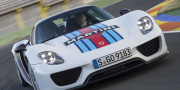 Фото Porsche 918 Spyder Weissach Package Martini Racing 2014