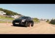 Porsche Macan на испытательном треке в Weissach
