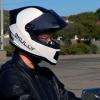 Шлем с камерой заднего вида Skully для мотоциклистов
