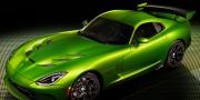 Фото SRT Dodge Viper GT Stryker Green 2014