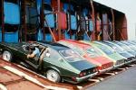 Необычный способ транспортировки автомобилей