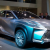 Осенью в продажу поступит компактный кроссовер Lexus