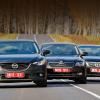 Строим в шеренгу седаны Mazda6, Toyota Camry и Skoda Superb