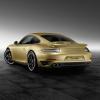Тюнеры Porsche предложили золотой 911 Turbo