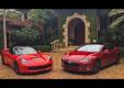 Tesla Model S в гонке против Corvette Stingray Z51
