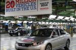 Honda построила 20 млн. автомобилей в Соединенных Штатах