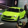 Концепт Skoda Octavia — купе нового поколения