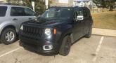 Jeep Renegade 2015 сфотографирован в Мичигане
