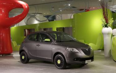 Lancia показала новые фото Ypsilon Elefantino 2014