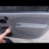 Разборка двери — снятие обивки на Рено Логан