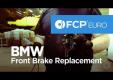 Снять и заменить тормозные колодки на БМВ 3-й серии
