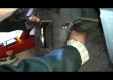 Замена колодок на передних колесах с дисковыми тормозами на Рено
