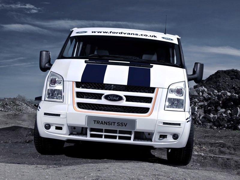 Ford Transit SuperSportVan.