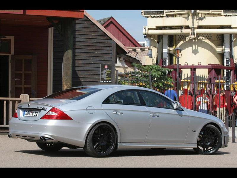 Фото Brabus Mercedes CLS W12 S Rocket 2005 - Тюнинг фото ...