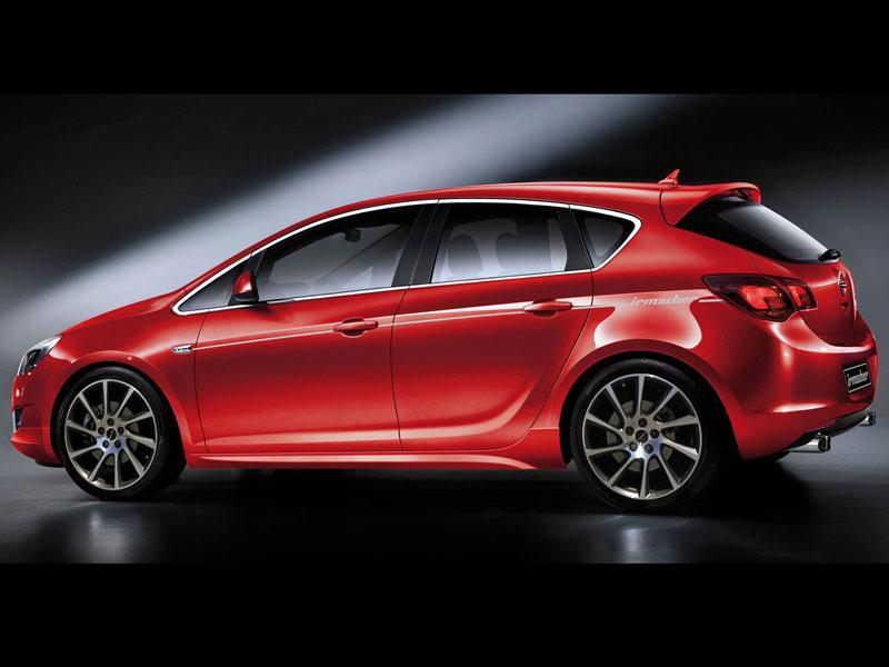 Тюнинг Opel Astra. фото новый…